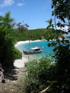 boat at strawberry tree villa