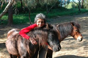 A project to save the endangered Miniature Skyros Horses reflects the spirit of Gerald's quest to save animals at risk of extinction and a popular place to visit.